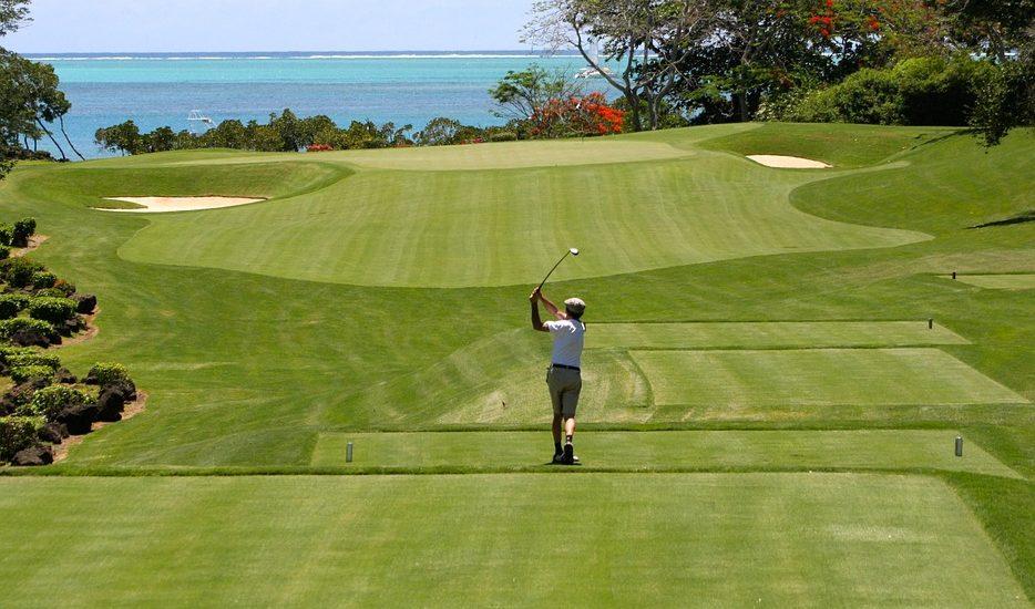 Golfing is a hugely popular sport